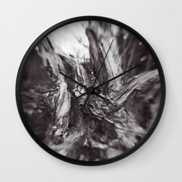 BLACK & WHITE 101 Wall Clock