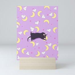 luna usagi bed Mini Art Print
