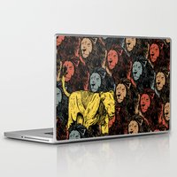 feminism Laptop & iPad Skins featuring Busting the myths of feminism by Jamie Bryan