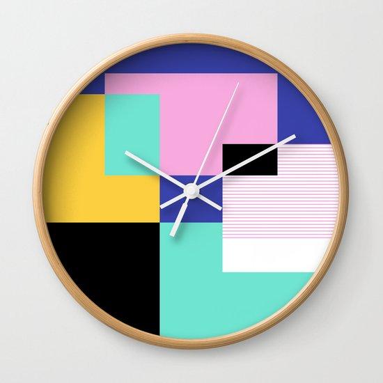 Tile Harmony Wall Clock