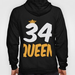 34. Birthday Present 34 Years Old Funny Gift Hoody