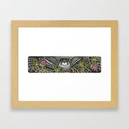 Falcon on clover Framed Art Print
