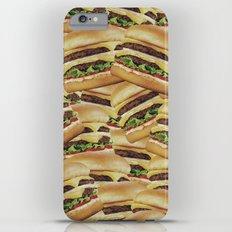 Vintage Cheeseburger Pile Print iPhone 6 Plus Slim Case