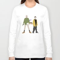 breaking bad Long Sleeve T-shirts featuring Breaking Bad by Bill Pyle
