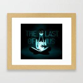 The Last Of Us Band Design Framed Art Print
