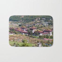 King's palace in Thimphu - Bhutan Bath Mat