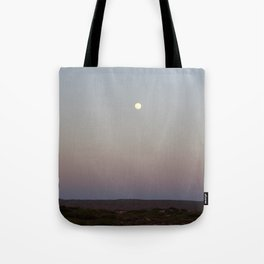 Outback Moonrise Tote Bag