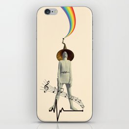 music for life iPhone Skin