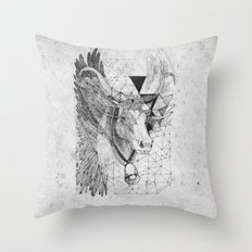 HOLY_COW Throw Pillow