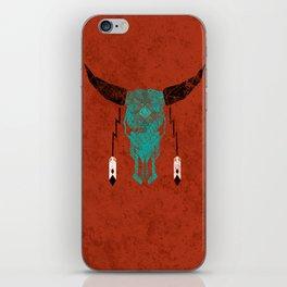 Southwest Skull iPhone Skin