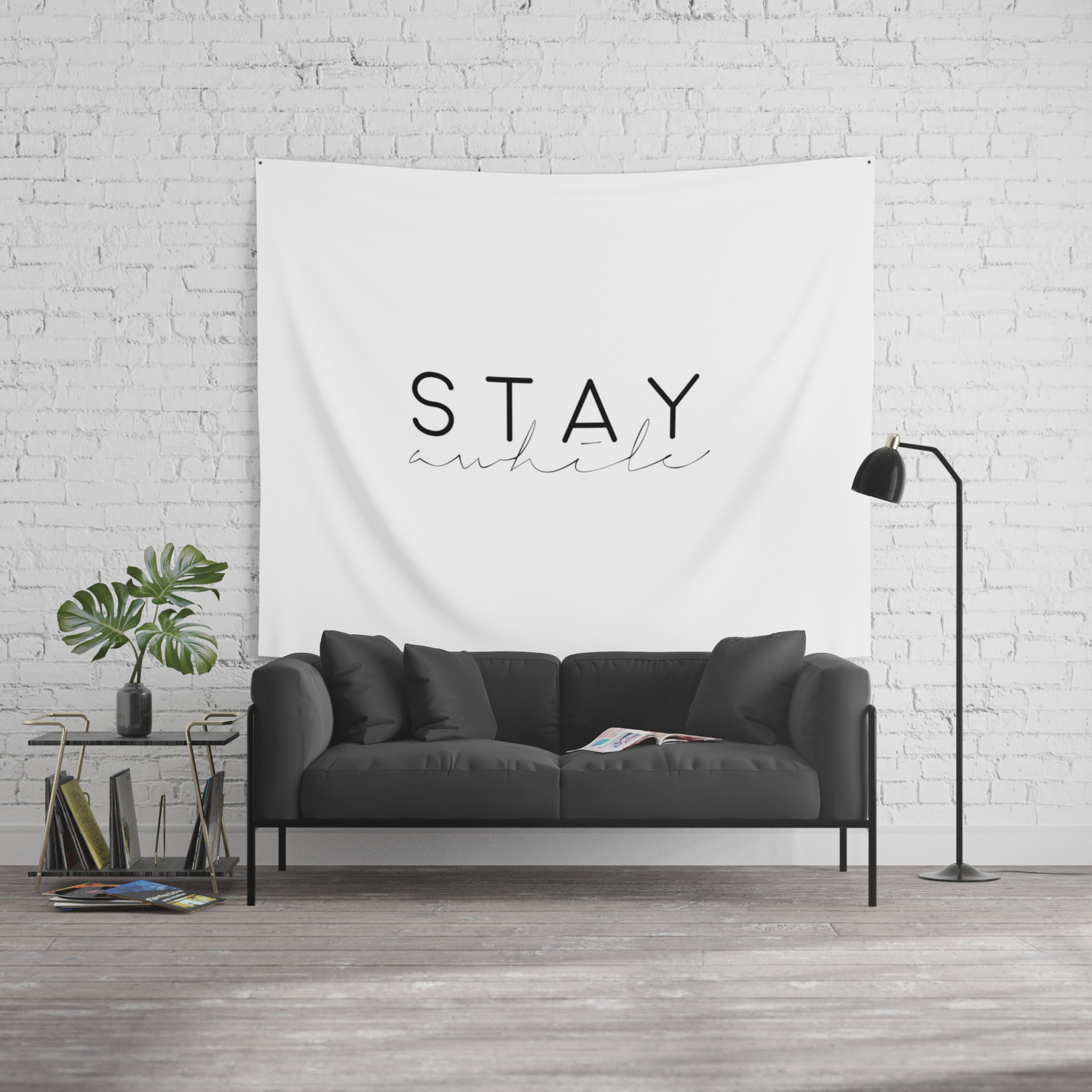 Stay Awhile Sign Music Quote Music Art Song Lyrics Music Lyrics Music Is Life Quote Prints Home Dec Wall Tapestry By Aleksmorin Society6