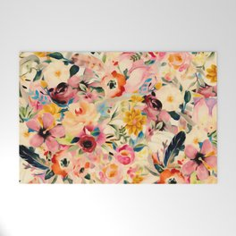 Picnic Blooms Welcome Mat