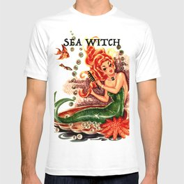 Sea Witch Print T-shirt