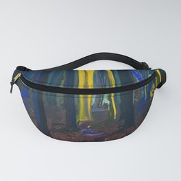 Stay Wild Yellow Moon Fanny Pack