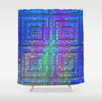 alchemy Shower Curtains featuring Color Alchemy by Lyle Hatch