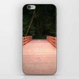 Red Cedar Hiking Bridge iPhone Skin