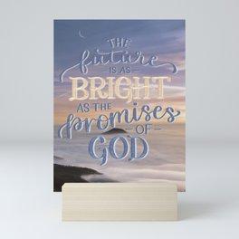 The Promises of God Mini Art Print