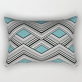Zigzag. Rectangular Pillow