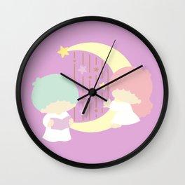 Little Twin Stars Wall Clock