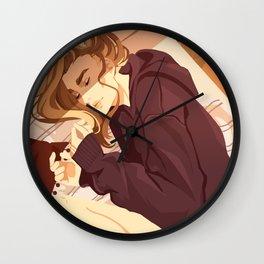 Kitty prince Wall Clock