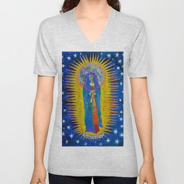 "Mary: ""Let it Be"" Unisex V-Neck"
