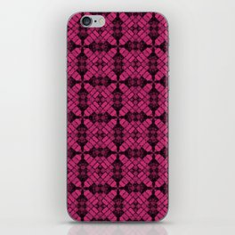 Pink Yarrow Quilt iPhone Skin