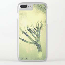 MAKING ROOM FOR MYSELF Clear iPhone Case