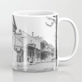 Chartres Street, Vieux Carre, New Orleans, Louisiana 1906 Coffee Mug