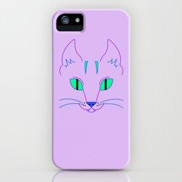 Funky Cat iPhone Case