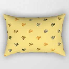 Paw bear Rectangular Pillow