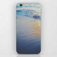 stay gold iPhone & iPod Skins featuring Stay Gold by gwstella