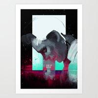 high-rise movie poster Art Print