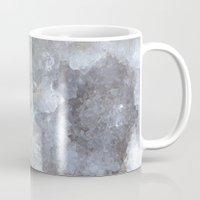 geode Mugs featuring Agate Geode  by CAROL HU