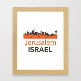 Jerusalem_Israel Framed Art Print