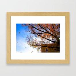 Sewickley PA in the Fall Framed Art Print