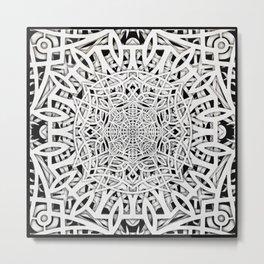 Papercutting layers 2 Metal Print