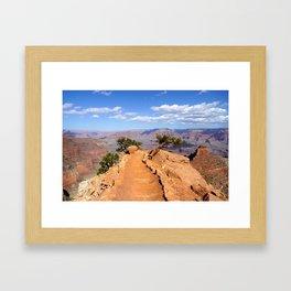 South Kaibab Trail, Grand Canyon Framed Art Print