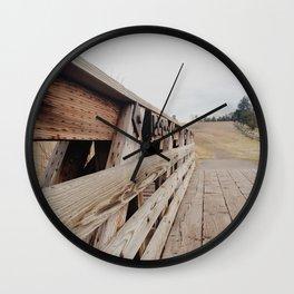 quick crossing Wall Clock