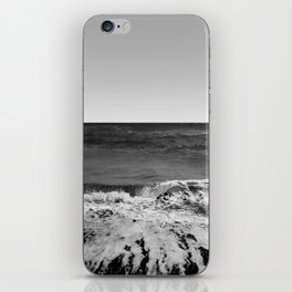 BEACH DAYS XVI BW iPhone Skin