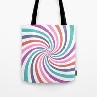 carnival Tote Bags featuring Carnival by The Nostalgic Whim