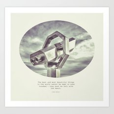 :: best and most beautiful things :: Art Print