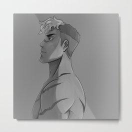 Shiro Metal Print