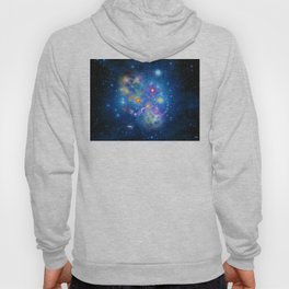 Colorful Pleiades Star Cluster Hoody