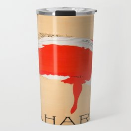 Vintage poster - Saharet Travel Mug