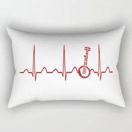 BANJO HEARTBEAT Rectangular Pillow