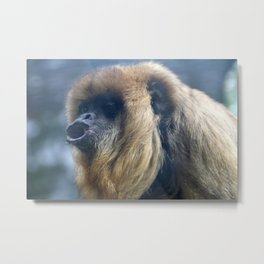 Howler Monkey 3 Metal Print