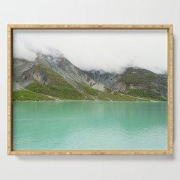Pristine Alaska Glacier Bay National Park Serving Tray