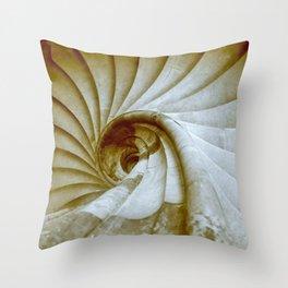 Sand stone spiral staircase 14 Throw Pillow
