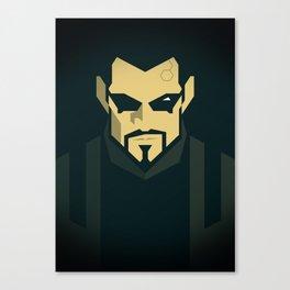 Jensen / Deus Ex: Human Revolution Canvas Print