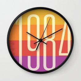 1984 (h) Wall Clock